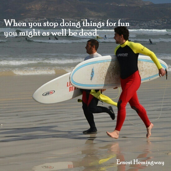 Ernest Hemingway Zitat