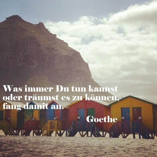 Zitate von Goethe